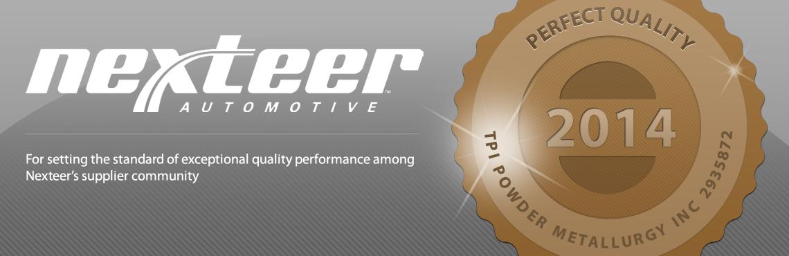 2014-nexteer-perfect-quality